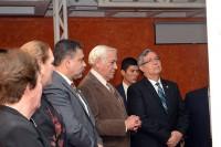 Arquitecto Byron Rabe y Vicepresidente Jafette Cabrera